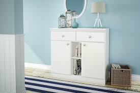 amazon com south shore morgan sideboard pure white kitchen u0026 dining