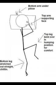 Comfortable Ways To Sleep For Us X Ray Folks We Unfortunately Sleep In The Sims Position