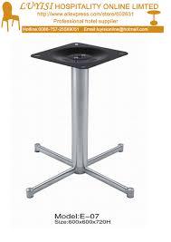 restaurant table base levelers polished stainless steel table base in restaurant tables from