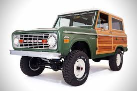 Ford Raptor Bronco - 1974 ford bronco woody by cfb hiconsumption