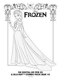 frozen elsa coloring pages getcoloringpages com