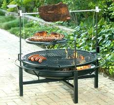 Firepit Grille Pit Grill Table Combo Pit Grill Combo Pit Grille