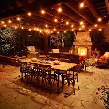 how to string cafe lights string lights patio create a backyard cafe the kienandsweet cafe