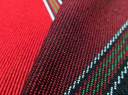 arabisches sofa sadu schwarzes und rotes gestreiftes gewebe für arabisches boden sofa
