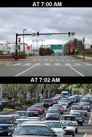 Traffic Meme - how traffic works every morning meme guy