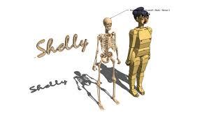 posable skeleton posable skeleton 3d warehouse
