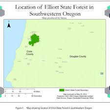 Oregon Map Of Counties by Options For The Monetization Of The Elliot State Forest U2013 Strata