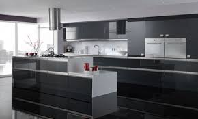Grey Gloss Kitchen Cabinets by Grey Gloss Kitchen Cabinets Kitchen