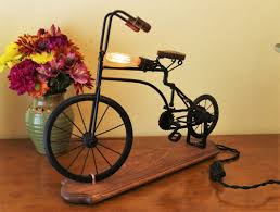 Bicycle Home Decor by Golfers Lamp