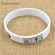 fashion bracelet silicone images Fashion lychee japan anime cartoon figure printed silicone rubber jpg
