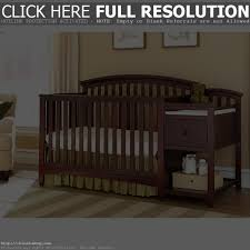 Cribs With Attached Changing Table by Baby Crib With Changer Full Image For Baby Bed With Changing
