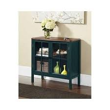 Accent Console Table Attractive Glass Door Console Cabinet Storage Console Table Glass