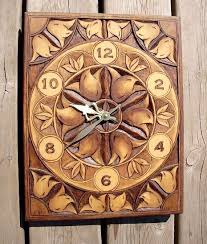 wood carving wall for sale han carved relief clock carved clock ornate flower design