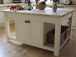 small kitchen with portable white kitchen island movable