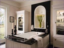 black and white bathroom decorating ideas bathroom white bathroom with color accents black tiles design