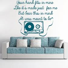 one direction wall sticker little things wall art