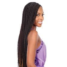 medium box braids with human hair freetress synthetic medium box braid www hairsisters com
