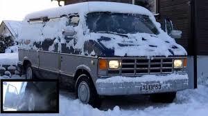 Dodge Ram Van - dodge ram van in snow part 2 youtube