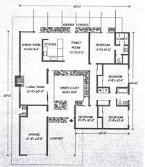 Mid Century House Plans Califoria 1960s House Plans Home Deco Plans