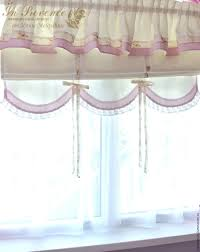 Shabby Chic Kitchen Blinds Buy Blinds Roman In The Nursery With Scalloped Shabby Chic On