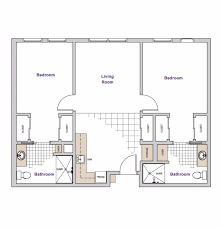Bedroom Floorplan by Floorplans Casa Aldea Senior Living