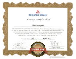 Ben Moore by Ben Moore Certified Stain Master Home Partners Painting