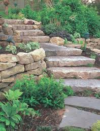 natural stone landscaping ideas how to install retaining walls