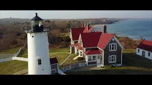 an aerial tour of nobska point lighthouse woods hole ma youtube