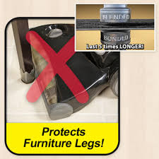 Best Way To Protect Hardwood Floors From Furniture by Furniture Feet Size Large Asseenontv Com Store