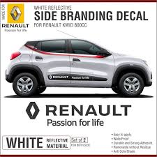 renault climber colours renault kwid door reflective sticker set amazon in car u0026 motorbike