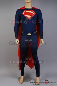 new superman man of steel movie masters superman cosplay costume