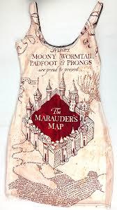 Marauders Map Dress Amazon Com Harry Potter Marauders Map Dress Everything Else