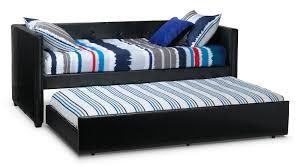 Aubrey Trundle Black Leons - Leons bunk beds