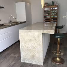 cast concrete worktops surfaces and furniture precast concrete