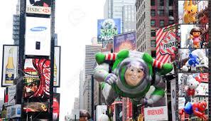Thanksgiving November 26 Manhattan November 26 A Buzz Lightyear Balloon Passing Times