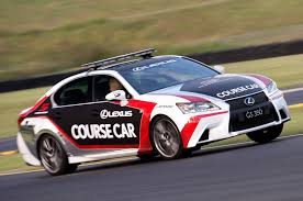 lexus sports car gs lexus rc f is the new v8 supercars safety car
