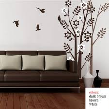 online get cheap shadow wall decal aliexpress alibaba group large tree wall decal with birds vinyl shadow sticker art home decoration