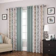Eclipse Grommet Blackout Curtains Eclipse Shayla Room Darkening Window Curtain Panel Walmart Com