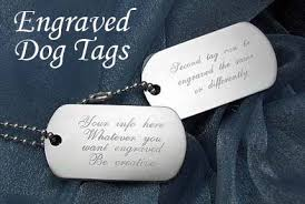engravable dog tags silver dog tags sterling silver dog tags engraved sterling silver