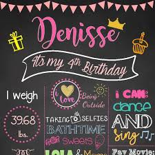 birthday board chalkboard birthday board design craft artwork on carousell
