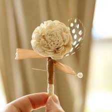 wedding boutonnieres rustic wedding boutonniere blossom woodland ivory flower 2 showcse