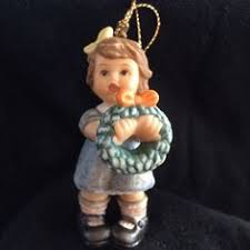 berta hummel goebel letter to santa ornament ebay sale