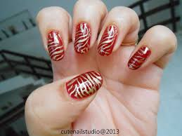 cute nails zebra nails stamping using maybelline color show