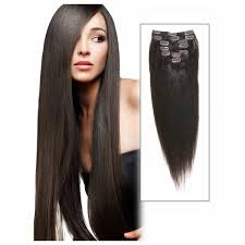 Yaki Clip In Human Hair Extensions by Clip In Dark Brown Hair Extensions Cheap Indian Remy Hair