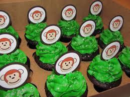 photo hello cupcake monkey baby image