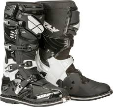 motocross boots fly racing mx motocross sector boots black us 7 ebay