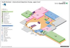 Chicago Midway Airport Map by South Terminal Of London Gatwick Airport U2014 International