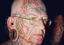 old people covered in tattoos pictures to pin on pinterest