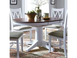 john thomas select dining round pedestal dining table with