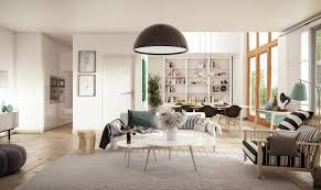 interior designing of homes images striped scandinavian decor